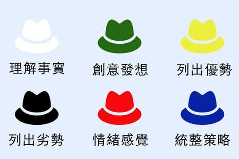 六頂思考帽