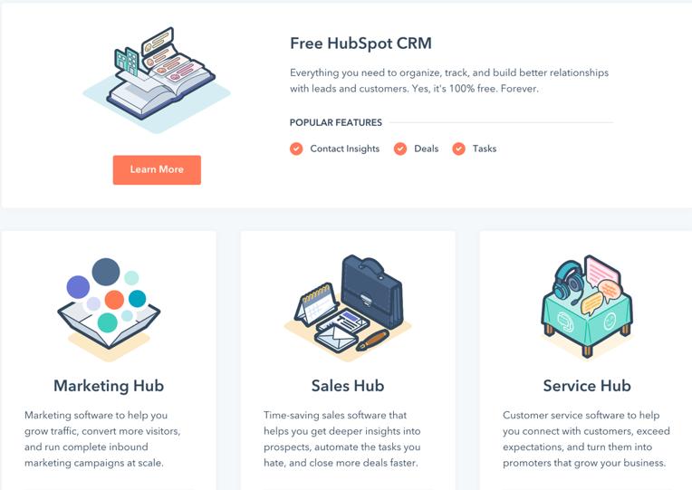 網路行銷工具Hubspot