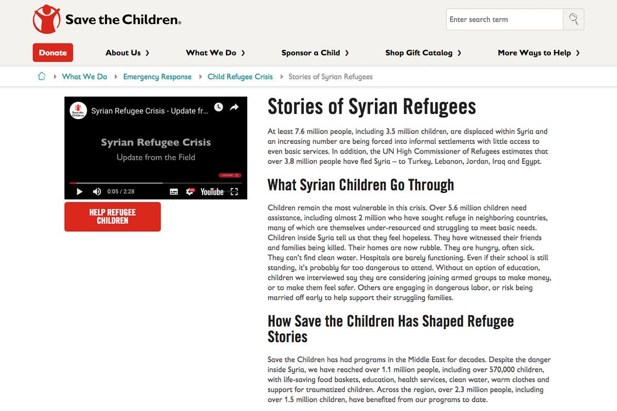 敘利亞公益情感行銷廣告