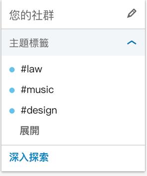 LinkedIn 主題標籤