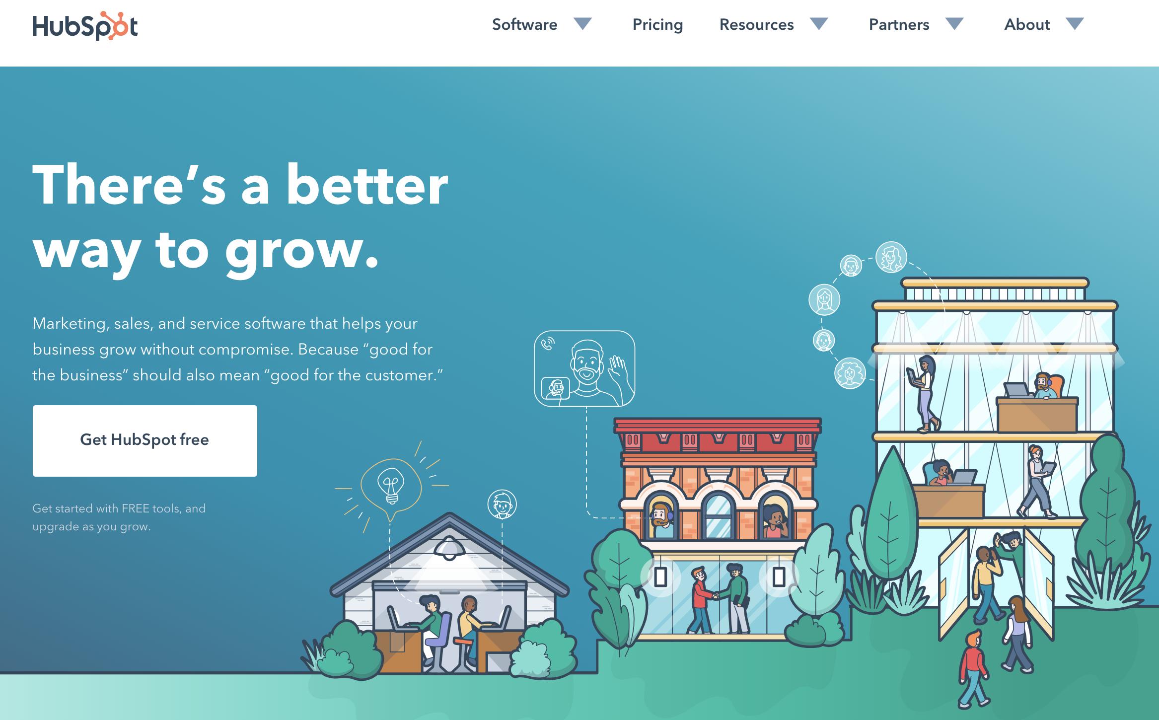 整合性網路行銷工具:Hubspot