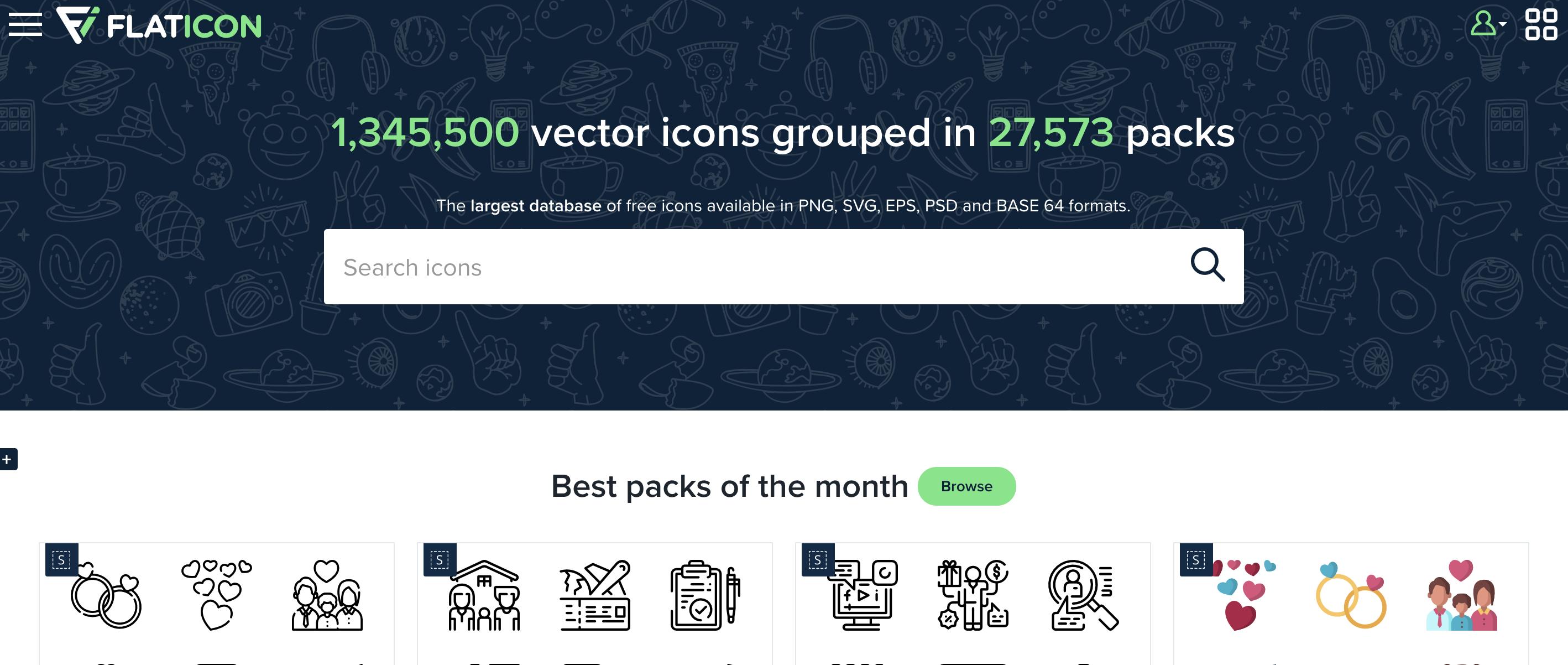 網路行銷工具:製圖工具FLATICON